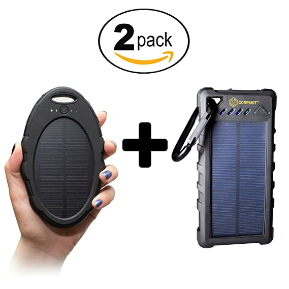Amazon.com  Solar Battery Charger by Compakit  af31292d19