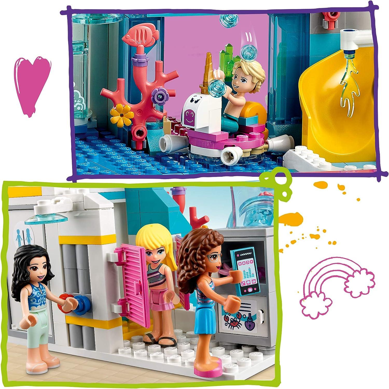 Multicolore LEGO-Le Parc Aquatique Plaisirs Friends Jeux de Construction 41430
