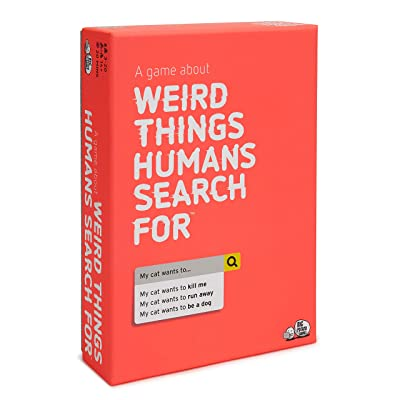 Weird Things Humans Search: Adult Party Game About The Strange Side of Google: Toys & Games