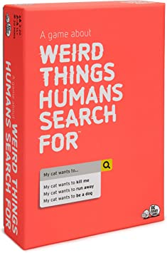 Weird Things Humans Search: Adult Party Game About The Strange Side of Google