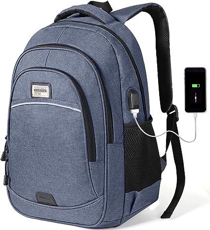 USB Rucksack Sport Reisen Wandern Arbeit Freizeit Schulrucksack Damen Herren NEU