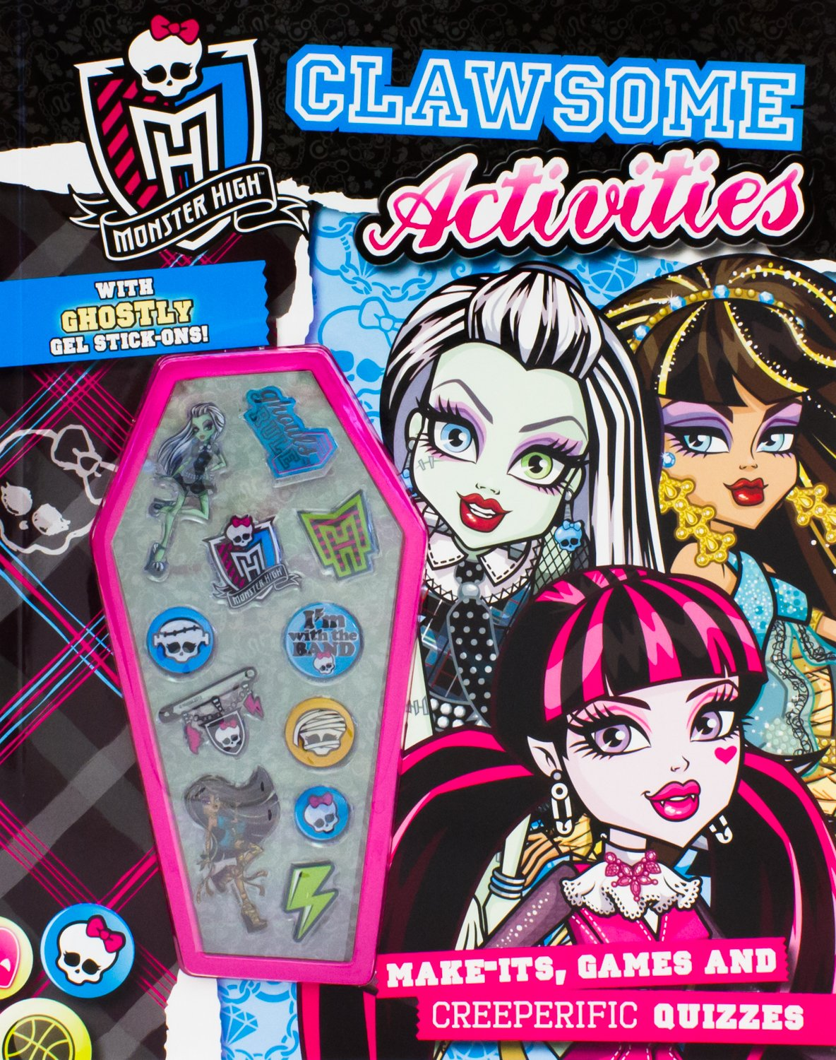 Uncategorized Monster High Activity Book monster high clawsome activities parragon books 9781472327413 amazon com books