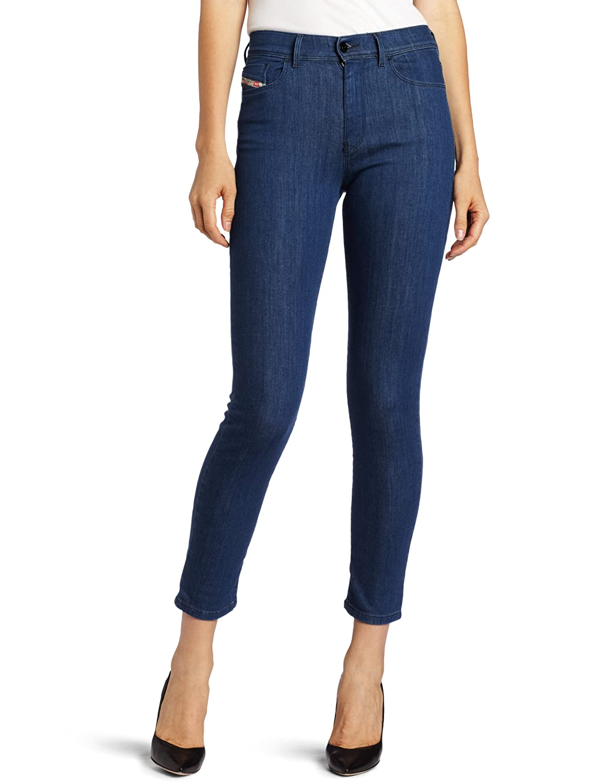 Diesel Women's Highkee High Waist Skinny Leg Jean 0069P