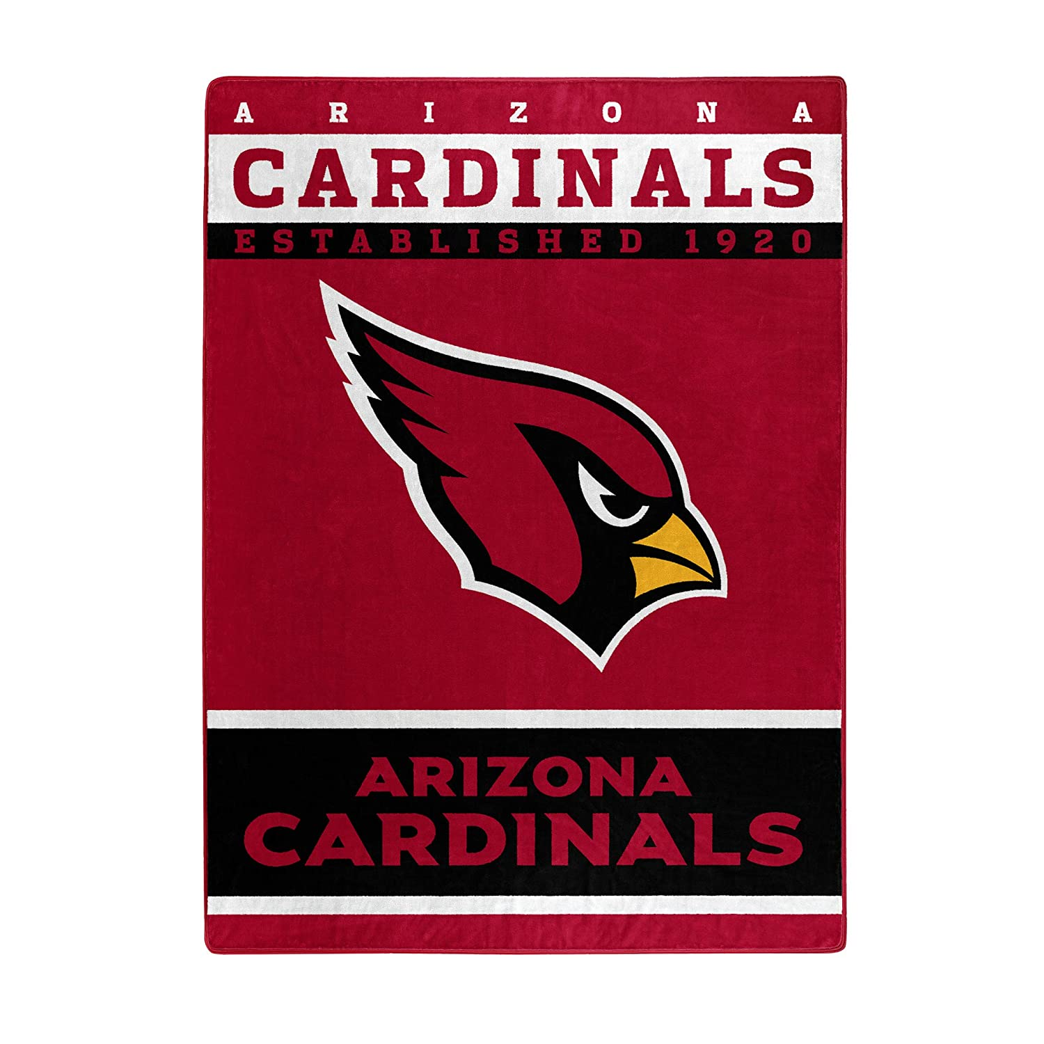 95e090ffd14 Amazon.com   The Northwest Company Officially Licensed NFL Arizona  Cardinals 12th Man Plush Raschel Throw Blanket