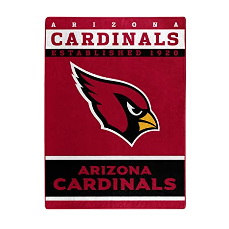 65ac1f38d6 The Northwest Company Officially Licensed NFL Arizona Cardinals 12th Man  Plush Raschel Throw Blanket