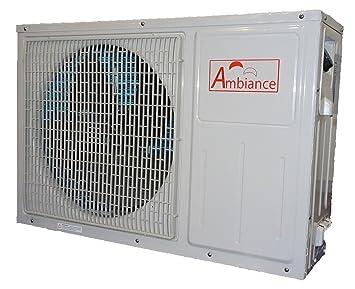 7,6 kW Aire de agua de Bomba de calor Ambiance 50
