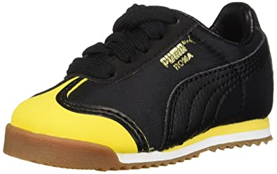 5eb8934c019c PUMA Baby Roma Kids Sneaker Minion Yellow Black