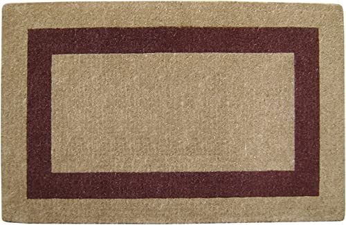 Nedia O2082 Not Applicable Heavy Duty 30 x 48 Coco Mat Brown Single Picture Frame, Plain