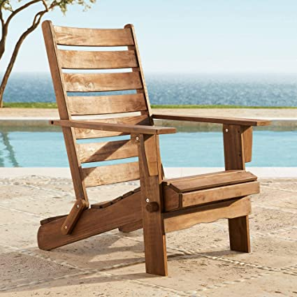 Remarkable Sonoma Dark Natural Folding Adirondack Chair Gamerscity Chair Design For Home Gamerscityorg