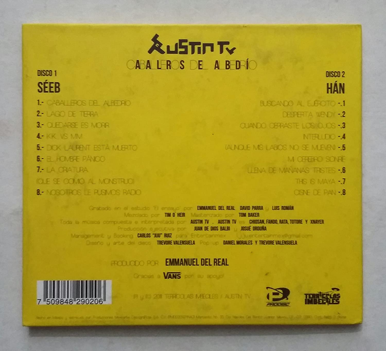 discografia de austin tv caballeros del albedrio