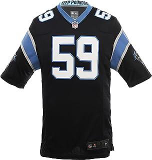 ef54350a5 Nike NFL Luke Kuechly Carolina Panthers Jersey Black/Cyan - Not Fake Sold  by Frostt