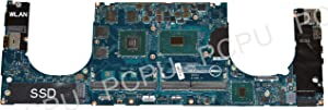 PC Parts Unlimited YV12N Dell XPS 15 9560 Laptop Motherboard GTX1050/4GB w/Intel i5-7300HQ 2.5GHz CPU