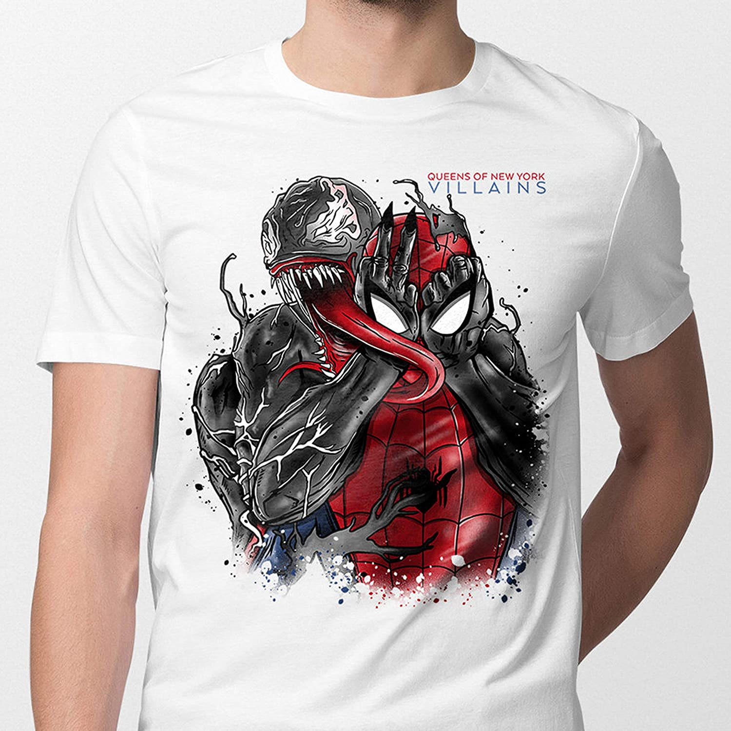 Unisex Girls /& Boys T shirt Tee Clothing Venom Marvel Comics Spider Man