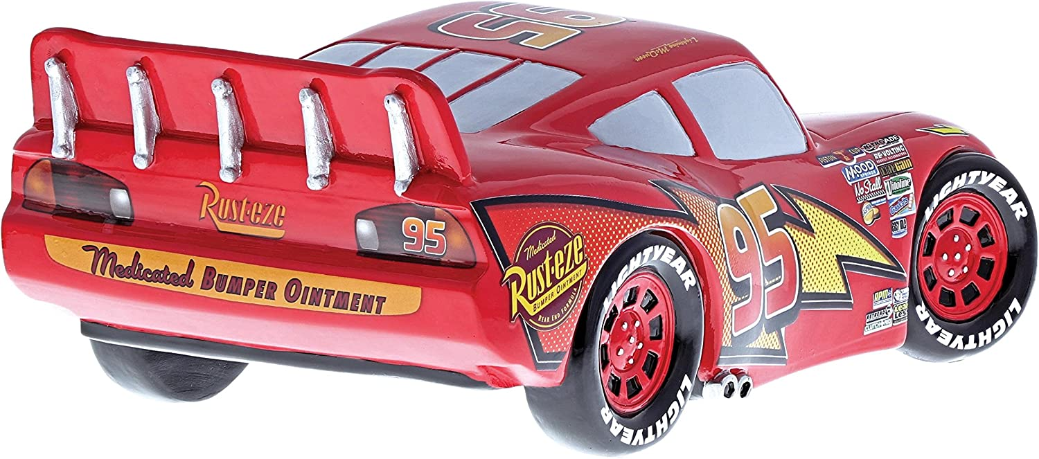 Disney Showcase 4054879 Cars Mcqueen Figurine Rouge