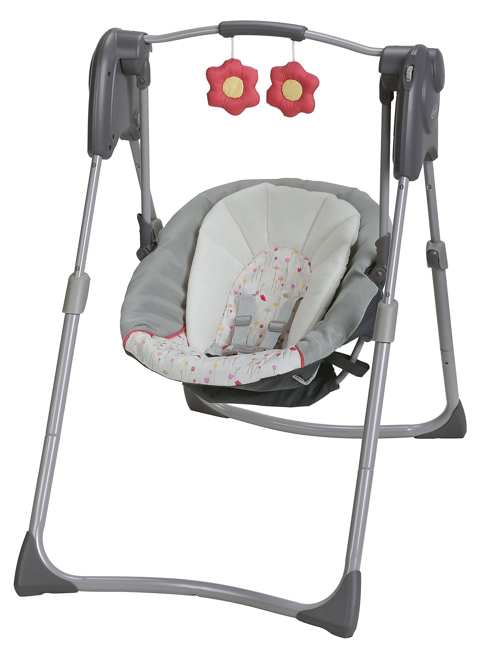 Graco Slim Spaces Compact Baby Swing, Alma