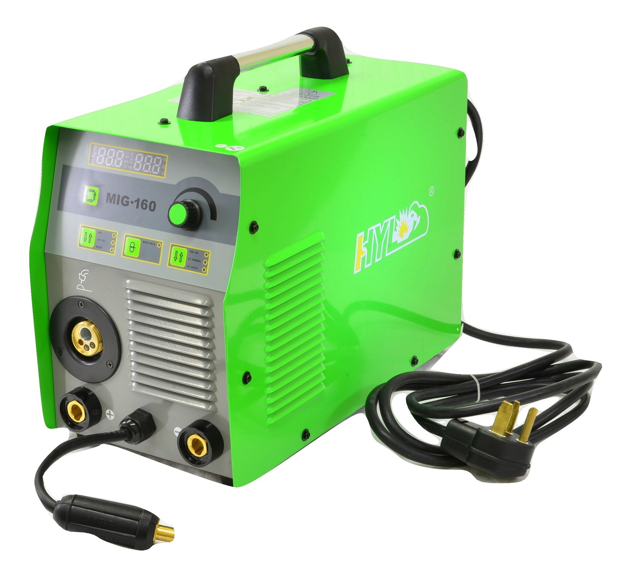 HYL MIG160 Combo Welder MIG/STICK/TIG 3 in 1 - 2YR USA WARRANTY WITH USA BASED PARTS AND SERVICE … by HYL