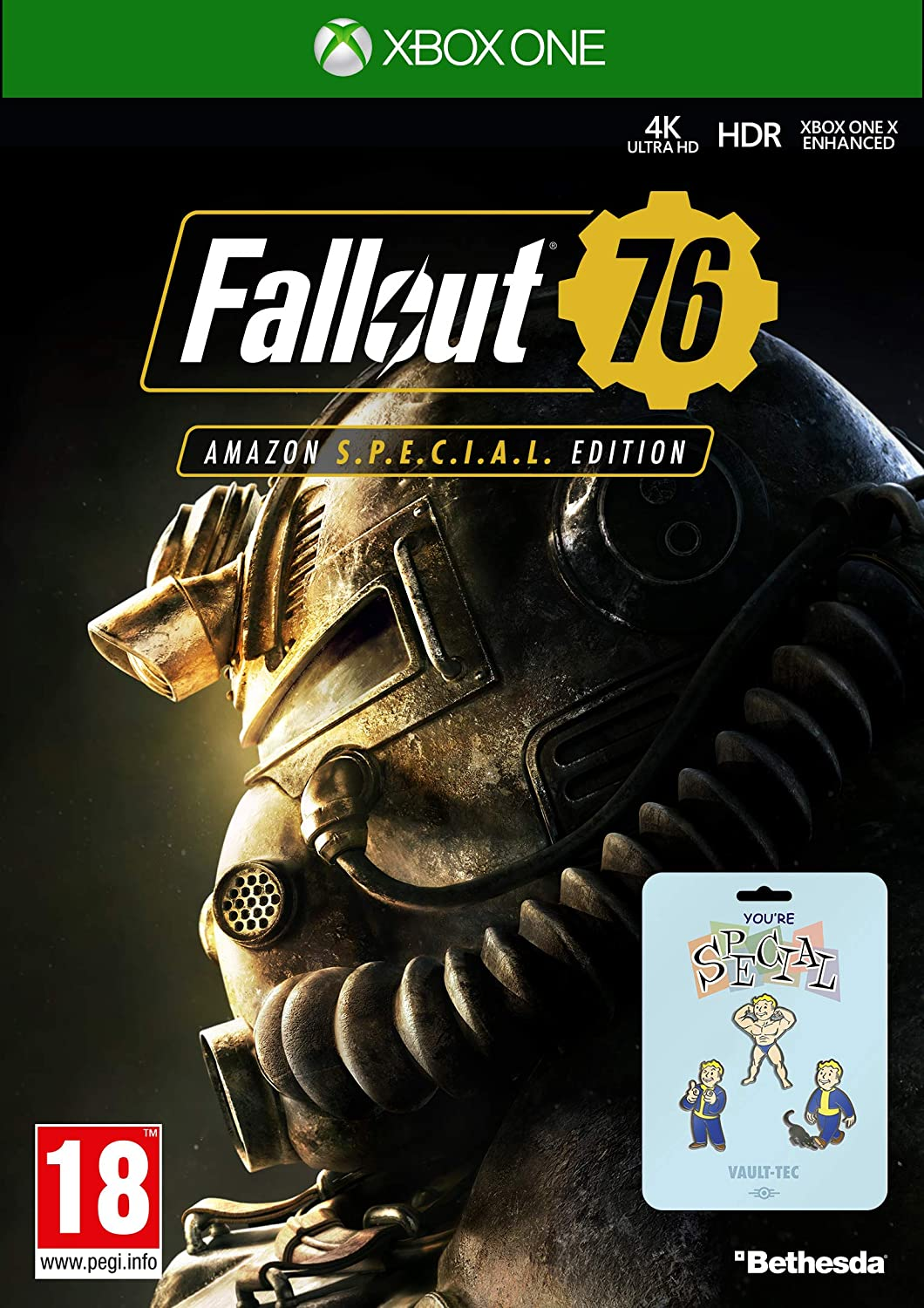 Fallout 76: S.*.*.C.*.*.L. Edition (Game + 3 Pin Badges) (Amazon ...