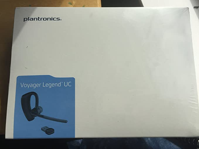 Amazon Com Plantronics Voyager Legend Uc Monaural Over The Ear Bluetooth Headset