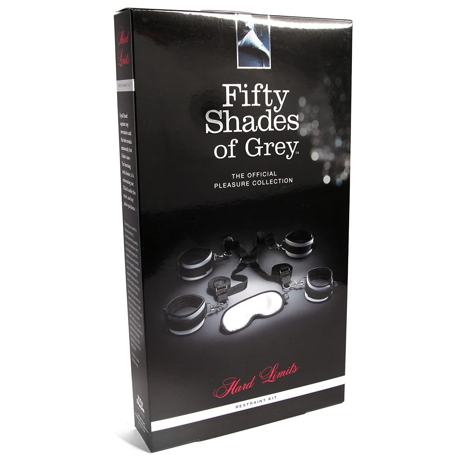 Amazon.com: Fifty Shades Of Grey Hard Limits Universal Restraint Kit: Love  Honey: Health & Personal Care