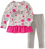 Juicy Couture Girls' Little 2 Pieces Long Sleeves