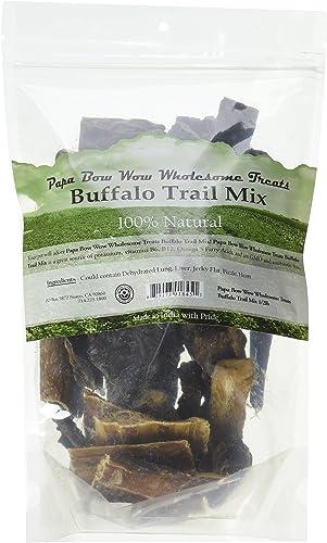 Papa Bow Wow Buffalo Treats for Dogs, Trail Mix