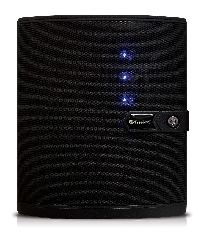 FreeNAS Mini E (Diskless) 4 Bay Compact NAS Storage with ZFS. Dual Core 1.5 GHz Processor, 8GB RAM (Diskless) by iXsystems