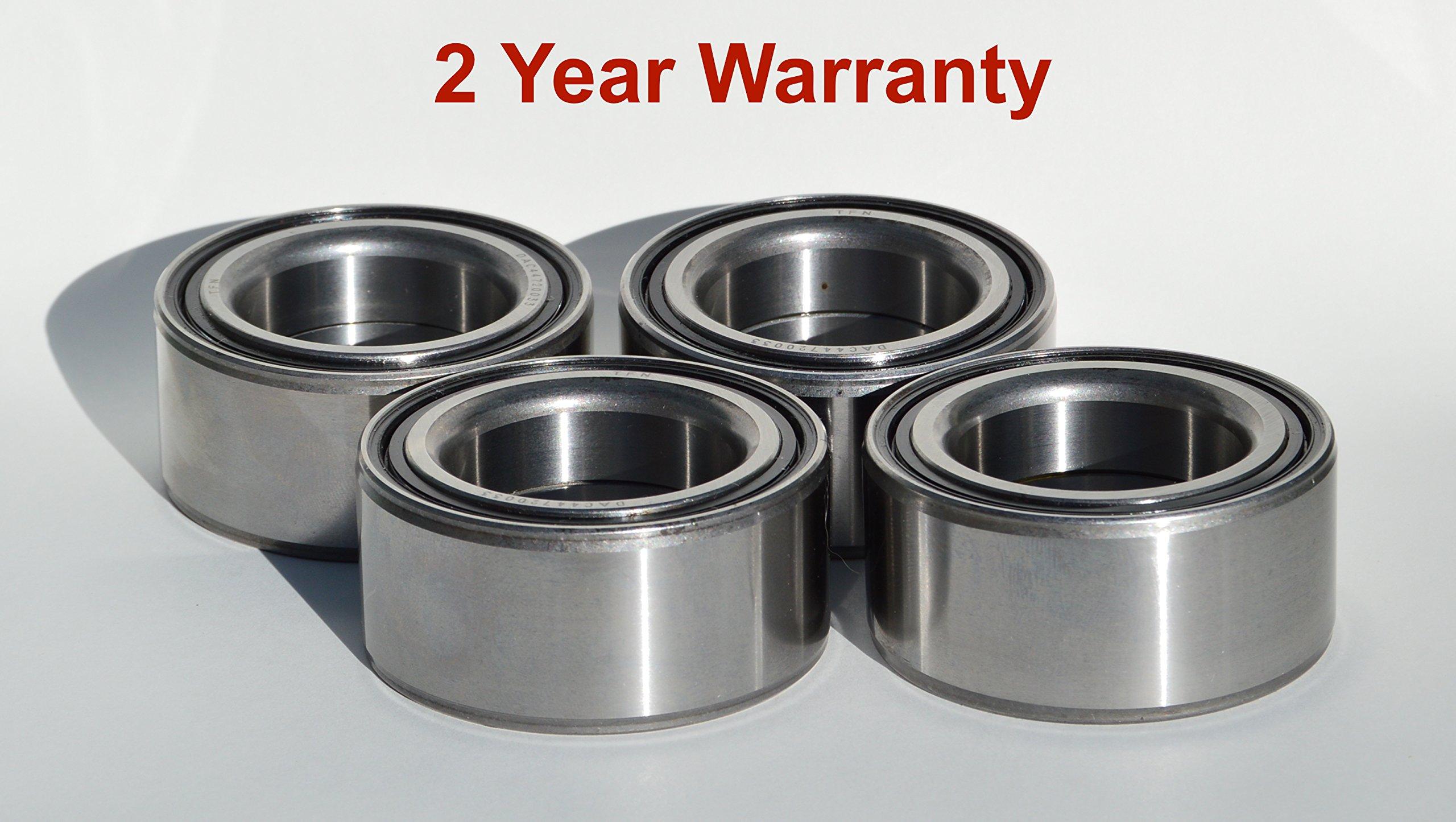 Polaris RZR XP 4 900 1000 Scrambler 850 Front & Rear Wheel Bearings Quantity 4