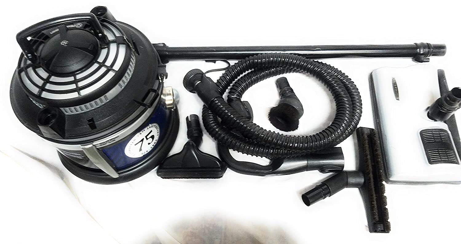 Filter Queen THE MAJESTIC CANISTER VACUUM W/EXTRA FILTERS & MORE!