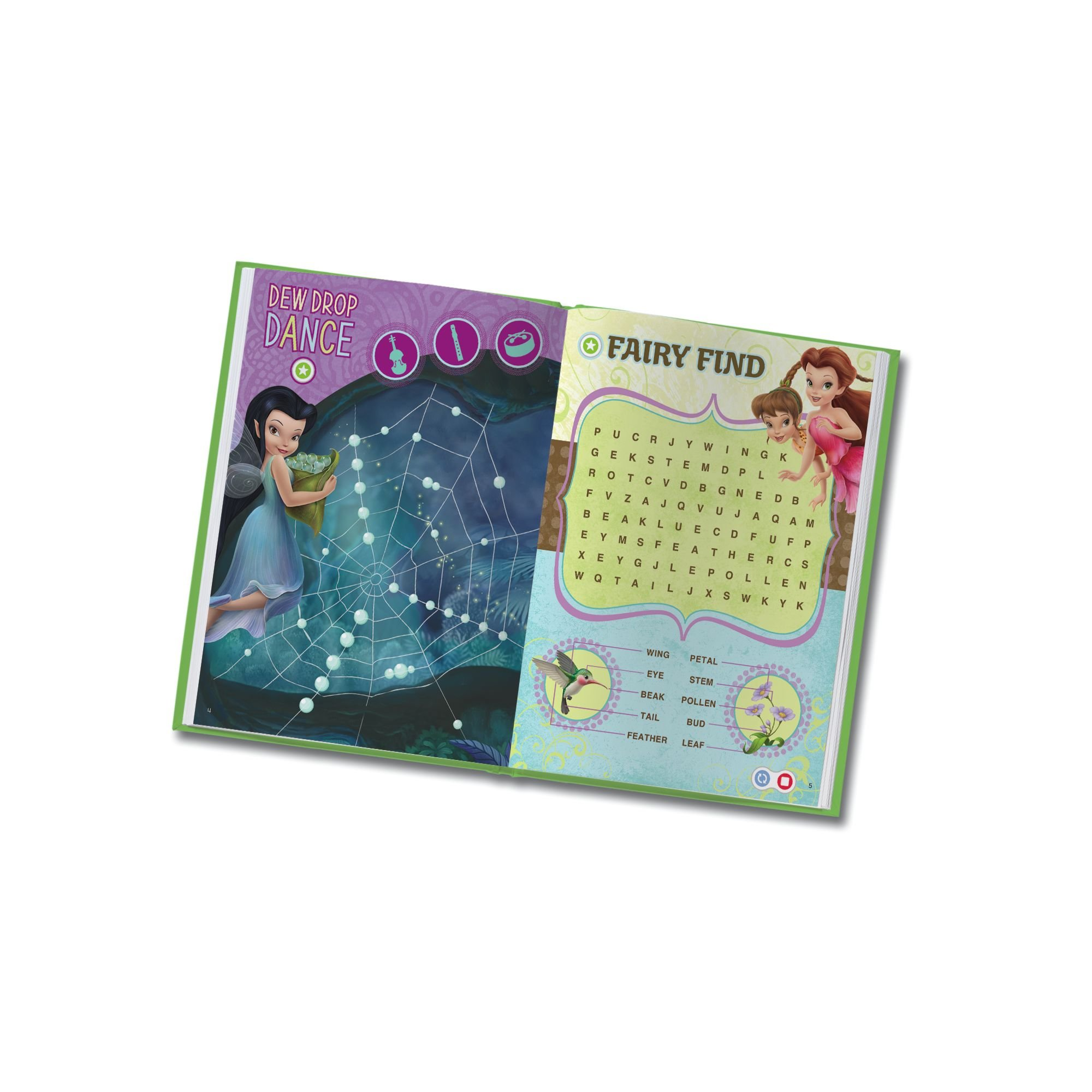 LeapFrog LeapReader Book: Disney Fairies Puzzle Time (works with Tag) by LeapFrog (Image #5)