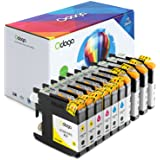 Odoga Compatible 10 Pack LC101 LC103 LC103BK Ink Cartridge Replacement for Brother MFC-J470DW J6920DW J475DW J4510DW J450DW J4710DW J6520DW J870DW [4 Black, 2 Cyan, 2 Magenta, 2 Yellow] - High Yield