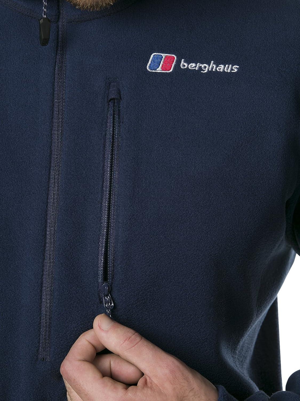 Hombre Berghaus Prism Micro Polartec 1//2 Zip Parte Superior de Forro Polar