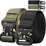 QINGYUN Tactical Belt,Military Style Webbing