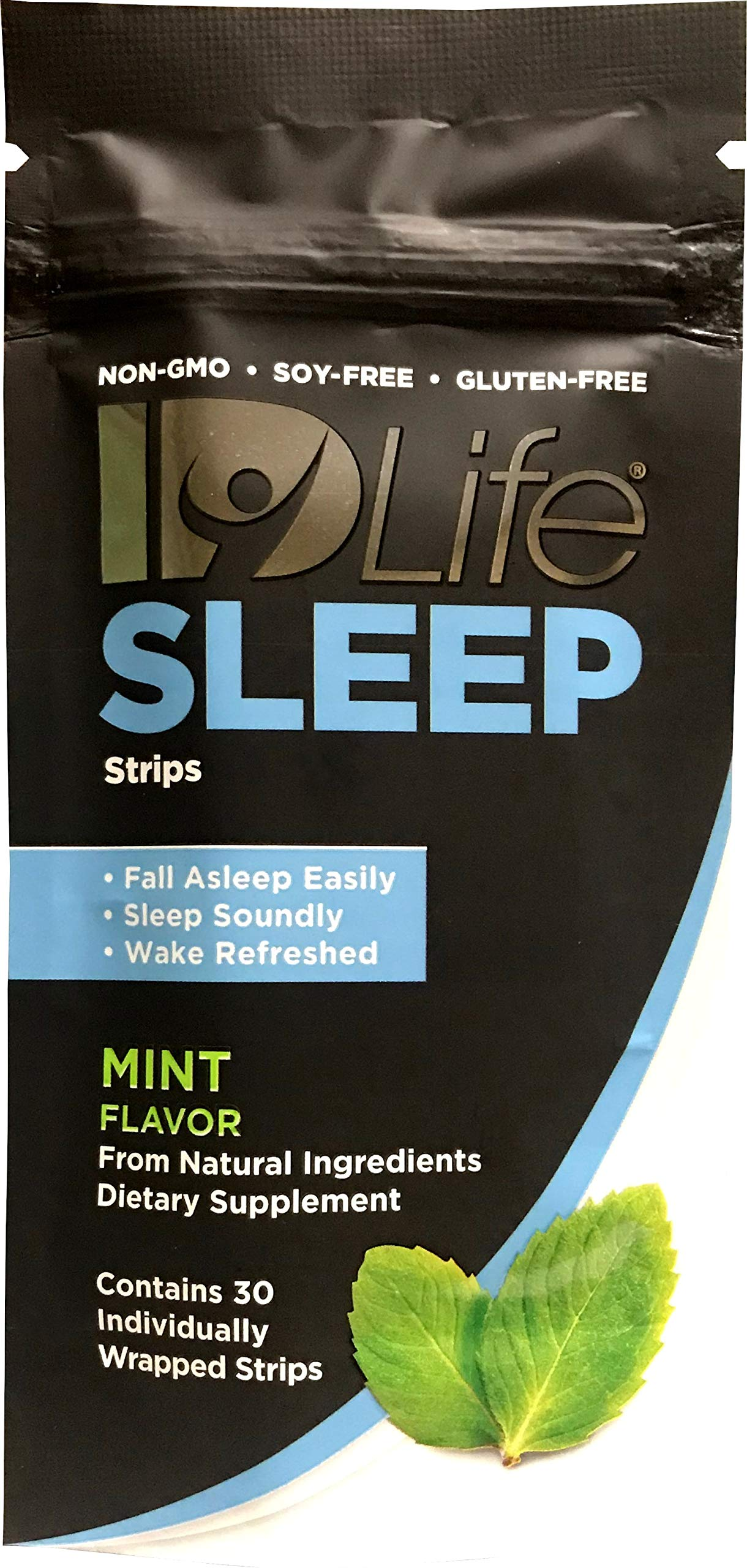 IDLife - Sleep Aid for Adults, All Natural Non-GMO, Non-Habit Forming, Melatonin, L-Theanine, 5HTP - 30 Individually Wrapped Strips by IDLife