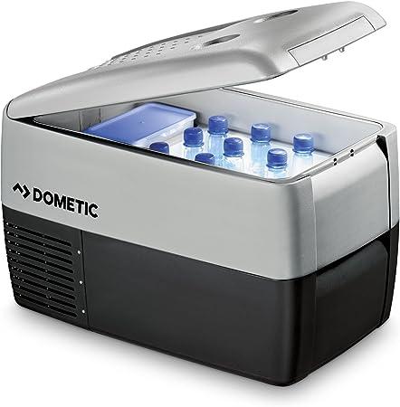 DOMETIC Coolfreeze CDF 36 - Nevera de compresor portátil, congelador con conexiones de 12/24 V, 31 litros