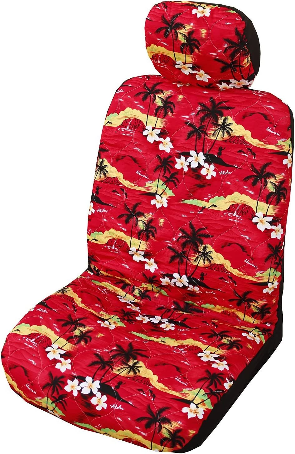 Black Quad Works Gripper Seat Cover 05-09 POLARIS SPORTS500H