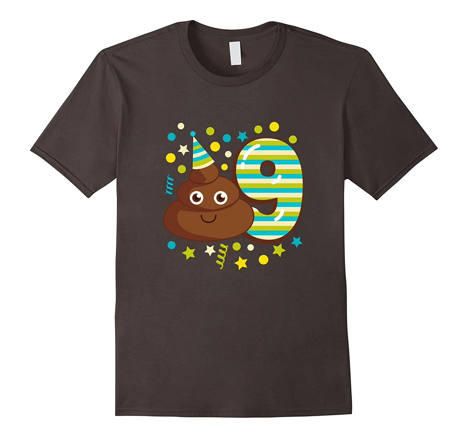 Kids Birthday Parties 9 Year Old Party Shirt Girl Or Boy CD