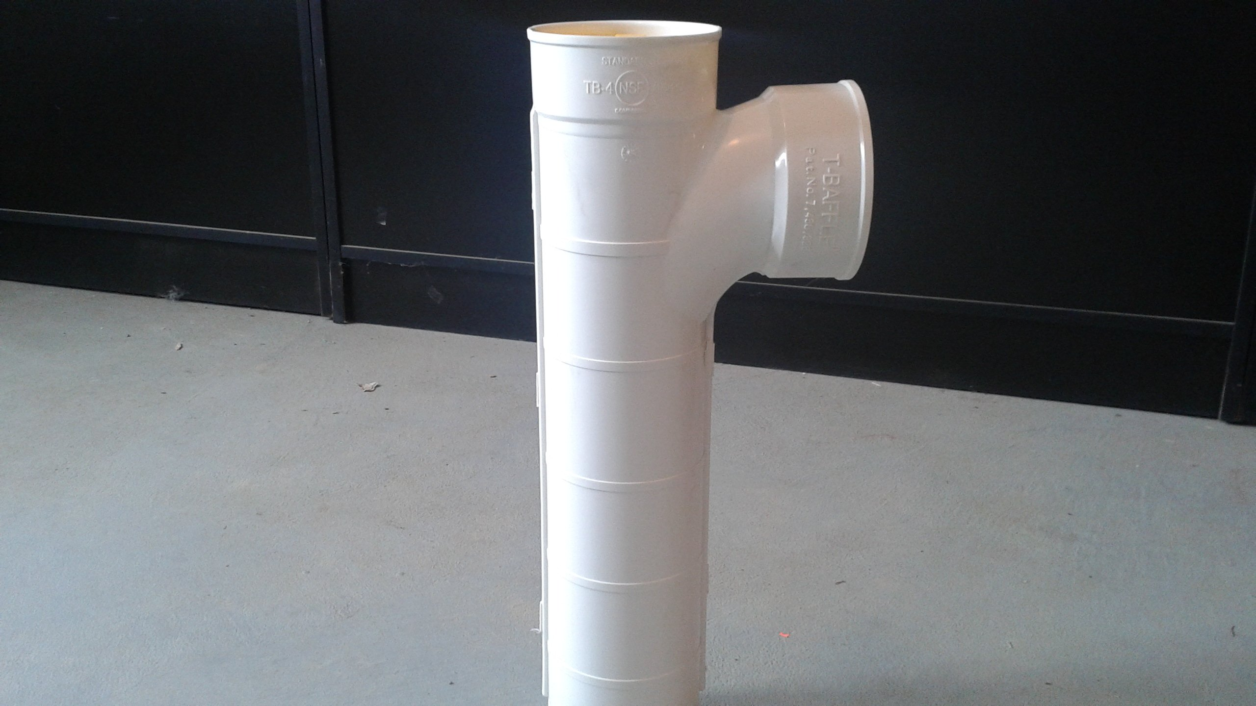 Septic Tank Tee Pipe with Filter 4 Inch - Approved in All 50 States by Bosley Septic Products