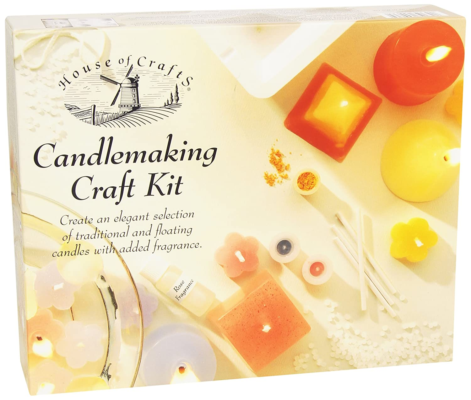 House of Crafts Candlemaking Craft Kit HC140 B000GCFO5I arts & crafts candles