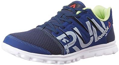 47b370954ee3 Reebok Men s Ultra Speed Running Shoes Navy