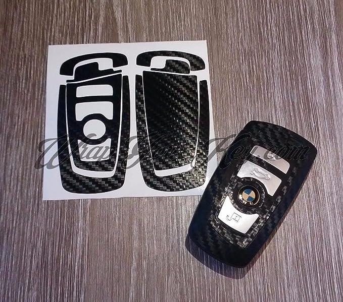 1 opinioni per Adesivo per chiave in fibra di carbonio nero, BMW, overlay per la serie 1: F21,