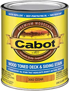 Cabot 140.0003002.005 Wood Toned Deck Stain