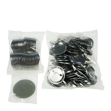 Sol 56 mm Chapas de en blanco y botones de repuesto para botón de insignias y