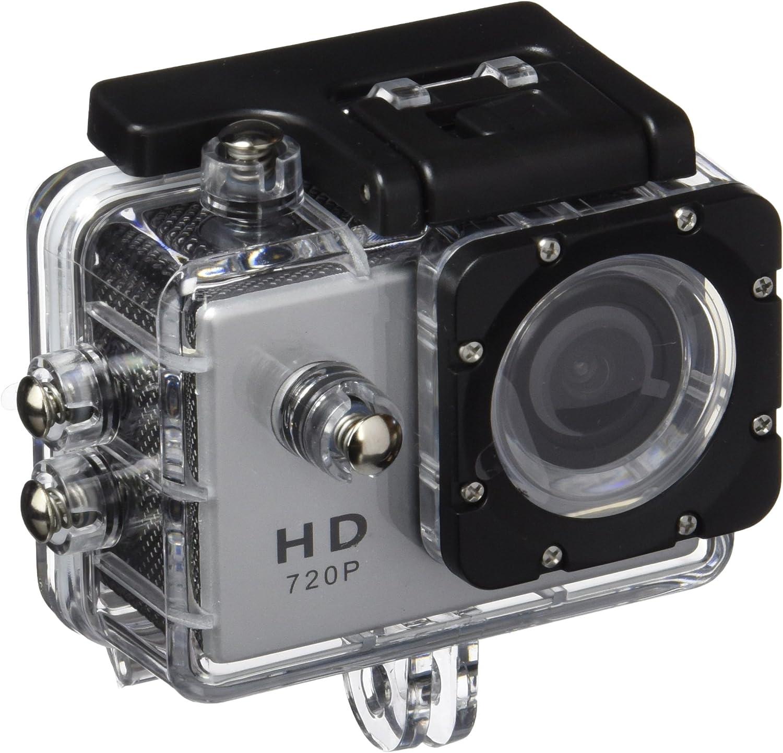 Prixton DV609 - Cámara de acción Sumergible de 1.3 MP (USB 2.0 ...