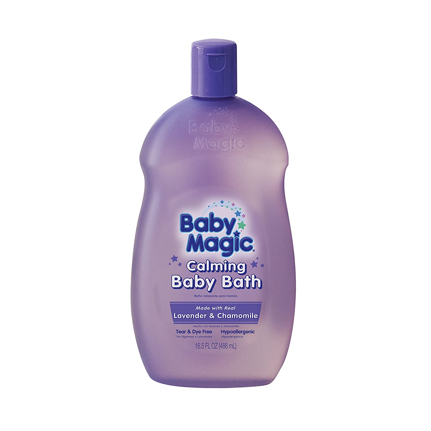 Baby Magic Calming Baby Bath, Lavender and Chamomile, 16.5 Ounces (Pack of 6) 705011