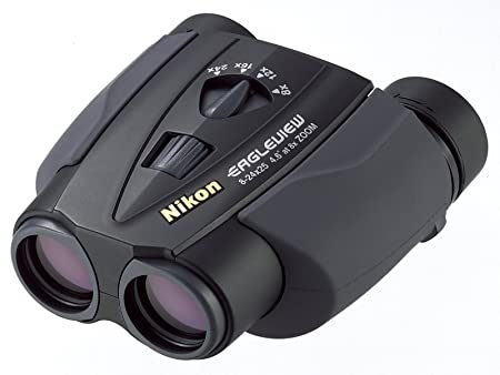 Nikon zoom fernglas 8 24x25 eagleview schwarz: amazon.de: kamera