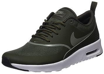 buy popular 7f590 e333a Nike Women s Air Max Thea Trainers, Green (Cargo Khaki Dark Stucco-Black
