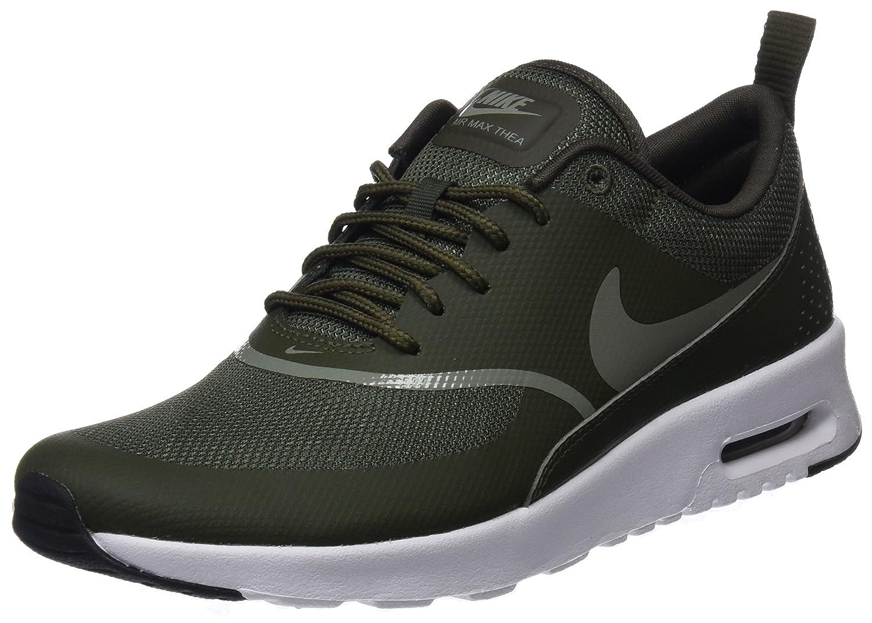 Green (Cargo Khaki Dark Stucco-black 310) Nike Women's Air Max Thea Low-Top Sneakers, Black