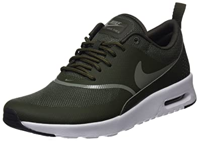 really cheap many styles great deals Nike Damen Wmns Air Max Thea Gymnastikschuhe - Grün (Cargo Khaki/dark  Stucco/black 310) , 41 EU