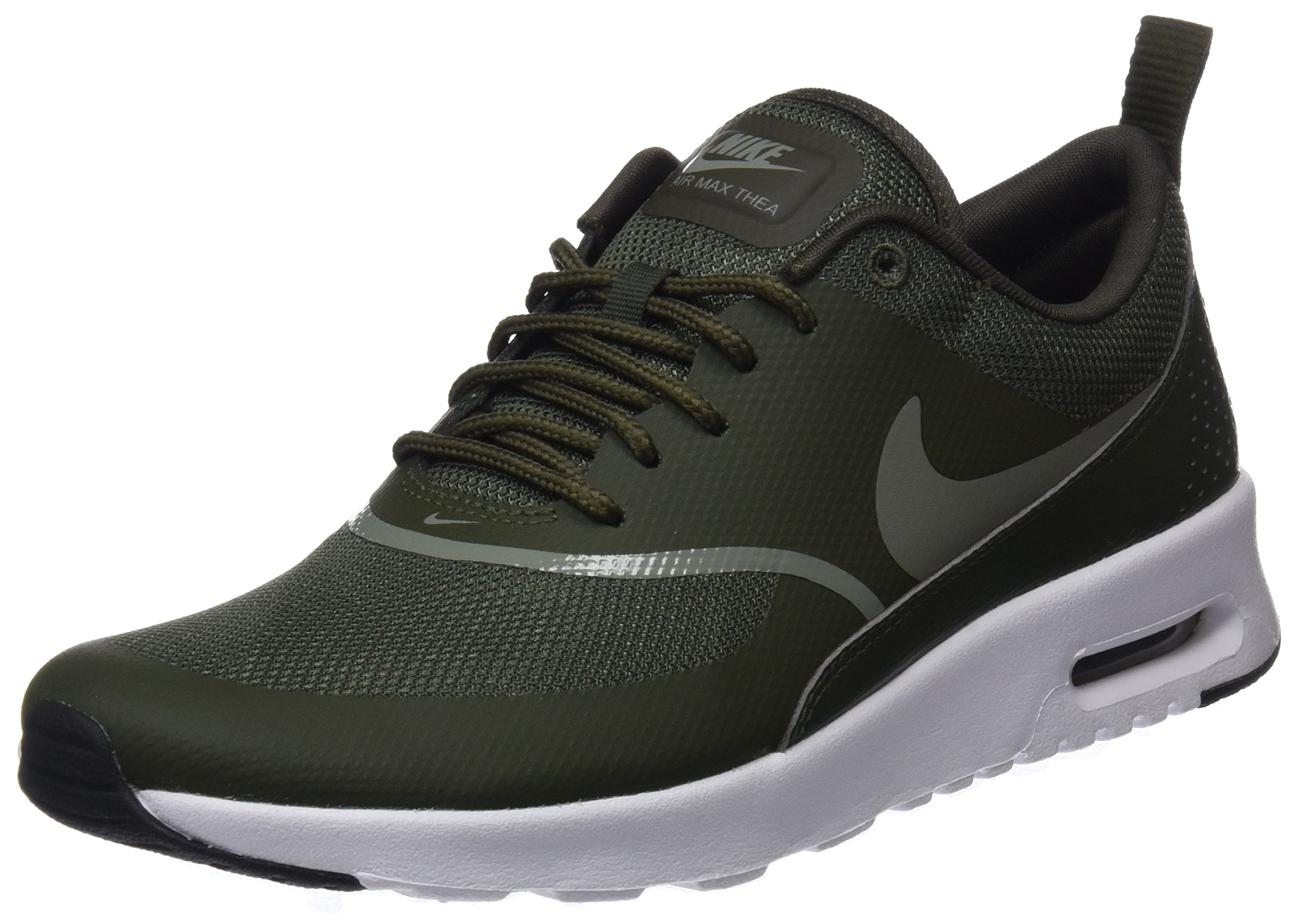 Galleon Nike Women's Air Max Thea Trainers, Green (Cargo