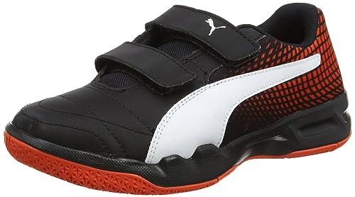 Puma Veloz Indoor Ng V Jr, Zapatillas de Deporte Interior Unisex Niños: Amazon.es: Zapatos y complementos